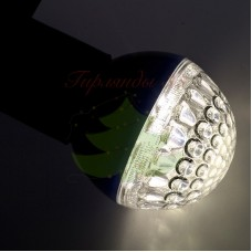 Лампа шар 50мм, 9 LED, тепло-белая 3Вт