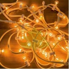 """Светодиодная гирлянда """"Belt Light"""", 10м, белый провод, свечение тепло-белое"""