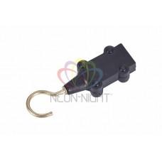 Заглушка с крюком для двухжильного иллюминационного кабеля Belt-light