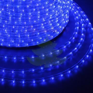LED ДЮРАЛАЙТ, фиксинг (2W), синий 220В, диам.13мм,NEON NIGHT