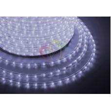 Дюралайт на лампах, чейзинг DL-3W, 13мм, молочный, 240V