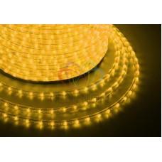 Дюралайт на лампах, чейзинг DL-3W, 13мм, жёлтый 240V
