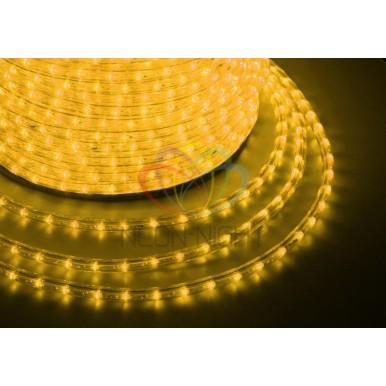 LED ДЮРАЛАЙТ, фиксинг (2W), желтый, 220В, диам.13мм,NEON NIGHT