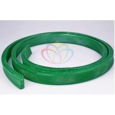 Дюралайт на лампах, чейзинг плоский 31*11мм UFLH-5W зеленый