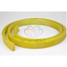 Дюралайт на лампах, чейзинг плоский 31*11мм UFLH-5W жёлтый