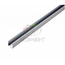 Короб металл для гибкого неона, длина 1м