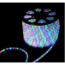 LED ДЮРАЛАЙТ, чейзинг (3W), мульти (RGB) 220В, диам. 13 мм