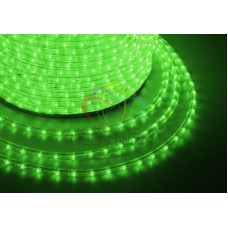 LED ДЮРАЛАЙТ, чейзинг (3W), зеленый, 220В, диам. 13 мм