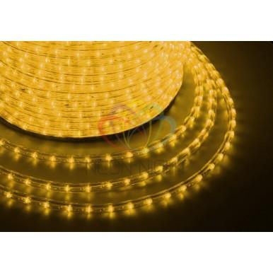 LED ДЮРАЛАЙТ, чейзинг (3W), желтый, 220В, диам. 13 мм,NEON NIGHT