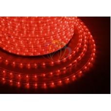 LED ДЮРАЛАЙТ, эффект мерцания(2W), красный, 220В, диам. 13 мм