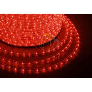 LED ДЮРАЛАЙТ, эффект мерцания(2W), красный, 220В, диам. 13 мм,NEON NIGHT