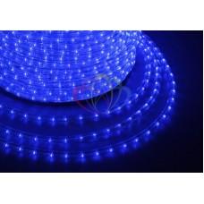 LED ДЮРАЛАЙТ, фиксинг (2W), синий 220В, диам.10мм