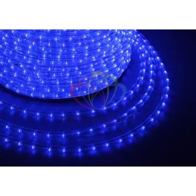 LED ДЮРАЛАЙТ, фиксинг (2W), синий 220В, диам.10мм,NEON NIGHT