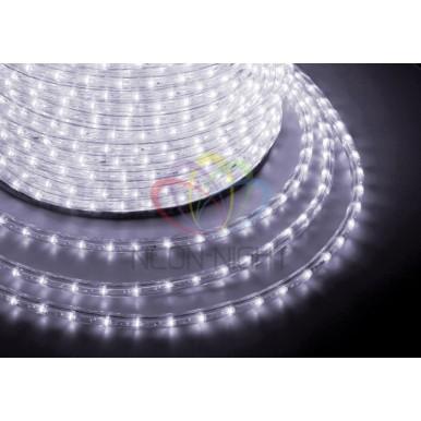 LED ДЮРАЛАЙТ, фиксинг (2W), белый, 220В, диам.13мм,NEON NIGHT