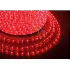 LED ДЮРАЛАЙТ, фиксинг (2W), красный 220В, диам.13мм