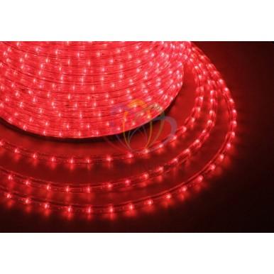 LED ДЮРАЛАЙТ, фиксинг (2W), красный 220В, диам.13мм,NEON NIGHT