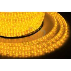 LED дюралайт плоский, чейзинг, 11*18 мм, жёлтый