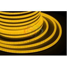 LED НЕОН 360, постоянное свечение, желтый 220В