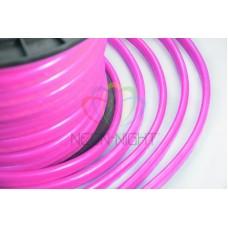 LED НЕОН, постоянное свечение, розовый, оболочка розовая, 220В