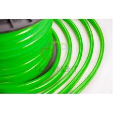 LED НЕОН, постоянное свечение, зеленый, оболочка зеленая, 220В