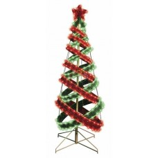 """Елка в стиле """"Хайтек"""", размер 120см, диоды красного и зеленого свечения (402шт)"""