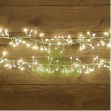 """Гирлянда """"Мишура LED"""" 6 м 576 диодов белого свечения"""