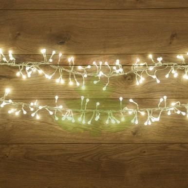 Гирлянда Мишура LED 6 м 576 диодов белого свечения,NEON NIGHT