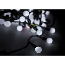 Гирлянда светодиодная ШАРИКИ-LED, Ø17,5мм, 20 м, цвет свечения белый