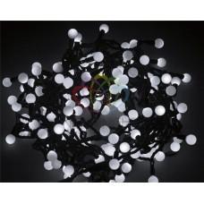 Гирлянда светодиодная ШАРИКИ-LED, Ø17,5мм, 20 м, цвет свечения белый, 24В