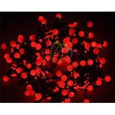 Гирлянда светодиодная ШАРИКИ-LED, Ø17,5мм, 20 м, цвет свечения красный, 24 В