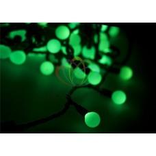 Гирлянда светодиодная ШАРИКИ-LED, Ø17,5мм, 20 м, цвет свечения зеленый