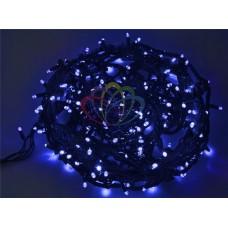 """Гирлянда """"Твинкл Лайт"""" 20 м, 240 диодов, цвет синий, черный провод """"каучук"""""""