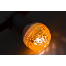 Лампа строб 50мм, ксенон, оранжевая, 12Вт