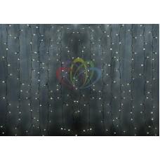 """Светодиодный Дождь"" 2х3м, статика, прозрачный провод, диоды МУЛЬТИ NEON-NIGHT"