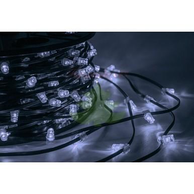 Гирлянда светодиодная КЛИП-ЛАЙТ 12V, шаг 15см, 100 метров, БЕЛЫЕ диоды,NEON NIGHT