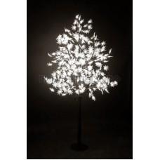 КЛЕН светодиодное дерево, высота 2,1м, Ø кроны 1,8м, диоды белые, IP 65