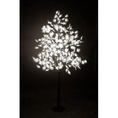 КЛЕН светодиодное дерево, высота 2,1м, Ø кроны 1,8м, диоды белые, IP 65,NEON NIGHT