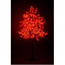 КЛЕН светодиодное дерево, высота 2,1м, Ø кроны 1,8м, диоды красные, IP 65