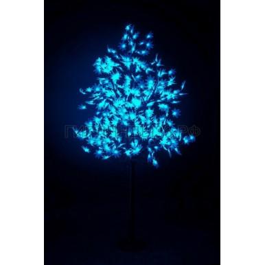 КЛЕН светодиодное дерево, высота 2,1м, Ø кроны 1,8м, диоды синие, IP 65,NEON NIGHT