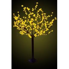 САКУРА светодиодная, высота 2,4м, Ø кроны 1,7м, диоды желтые, IP 44