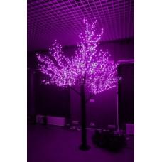 САКУРА светодиодная, высота 1,5м, Ø кроны 1,8м, диоды фиолетовые, IP 54