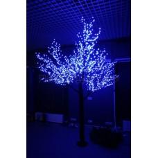 САКУРА светодиодная, высота 1,5м, Ø кроны 1,8м, диоды синие, IP 54