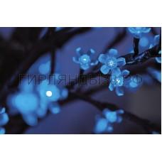 САКУРА светодиодная, высота 2,4м, Ø кроны 1,7м, диоды синие, IP 44