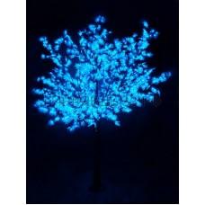 САКУРА светодиодная, высота 3,6м, Ø кроны 3м, диоды синие, IP 54