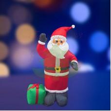 """""""Дед Мороз с подарком"""", 120 см, с подсветкой, IP 65"""