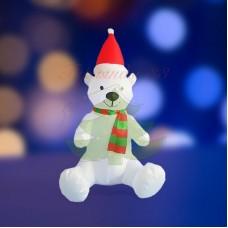 """""""Белый медведь"""", 120 см, с подсветкой, IP 65"""