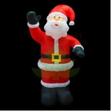"""""""Дед Мороз приветствует"""", 150 см, с подсветкой, IP 65"""