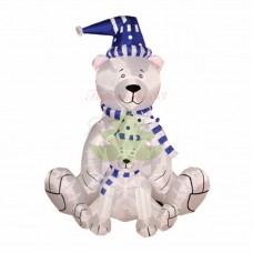 """""""Медведица с медвежонком"""", 180 см, с подсветкой, IP 65"""