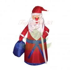 """""""Дед мороз с подарком"""", 180 см,  с подсветкой IP 65"""