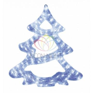 Акриловая светодиодная фигура Елочка, 62см, 84 светодиода, IP44,NEON NIGHT